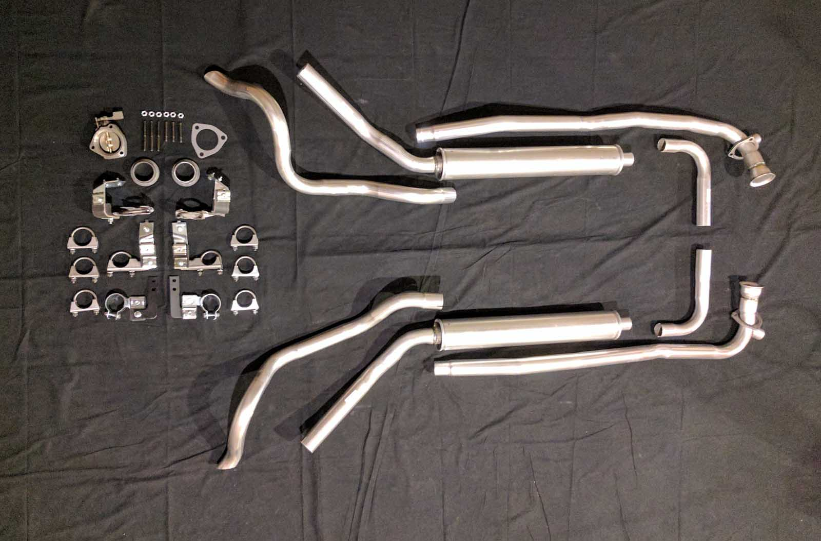 1962 Corvette Off Road System Exhaust Systems