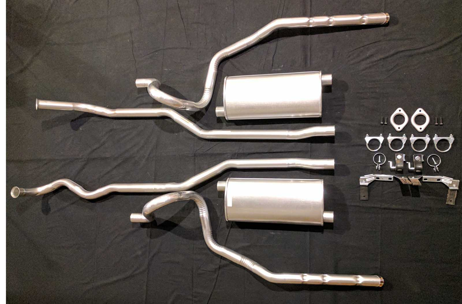 1967 Oldsmobile 442 Exhaust System   Muscle Car Exhaust Systems