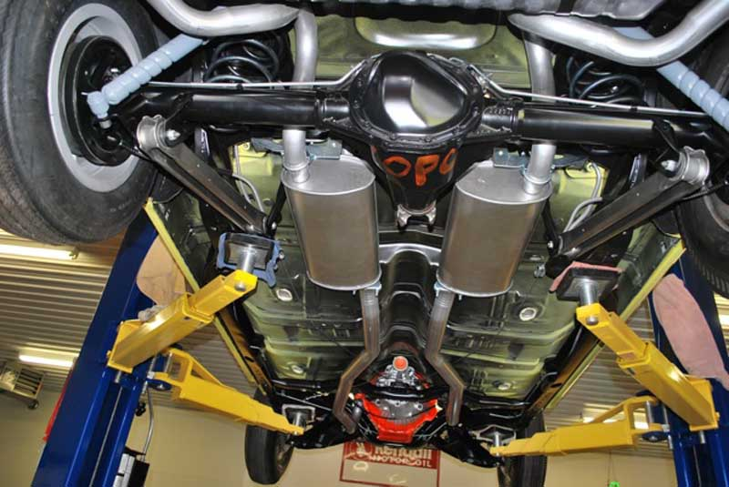 1969 Chevelle Exhaust/ SS Exhaust System   Muscle Car Exhaust Systems