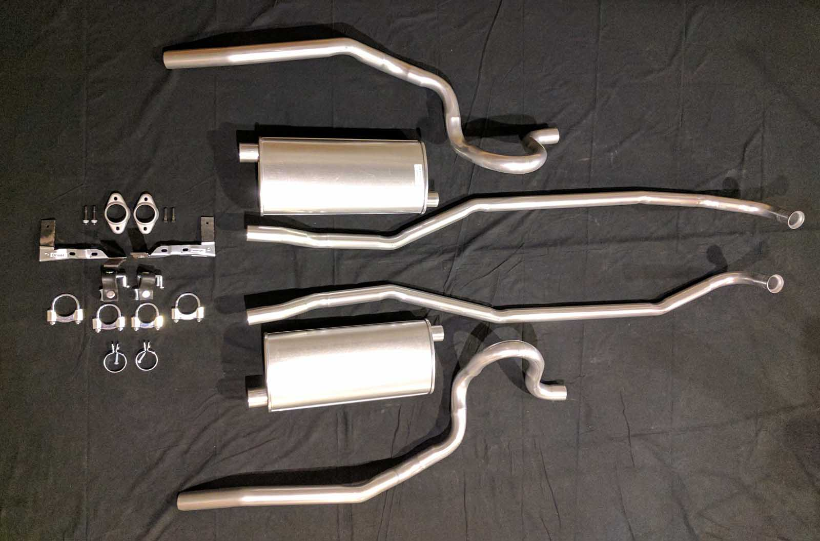 1970 Grand Prix Exhaust System